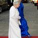2011 májusában ebbena fehér ruhában ment Dublinba: ő találta ki, hogy 2000 selyem-lóhere díszítse.