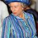 2007 október 15: a királynő Indiába látogat. A kalapja és ruhája is mindig passzol.