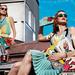 Steven Meseil színes reklámképe a Pradának.
