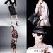 Amber Valletta és Raquel Zimmerman a Prada japán és a francia divat ihlette kollekciójának kampányában.