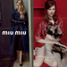Inez & Vinoodh hirdetése a Miu Miunak