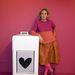 Colour blocking: Agatha Ruiz de la Prada eleve egy színes egyéniség.