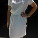 Zara: Íme egy 5995 forintos fehér ruha, amihez még sok kiegészítő is kell. De csinos és lenge.