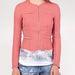 Tavaszi rózsaszín tweedkabát, Stradivarius, 6995 forint.