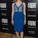Jessica Chastain vörös hajához kiválóan passzol a sápadt kék szín