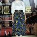A Dél-Koreai színésznőn,Cho Ahn-on sem mutat jól a térd alatt elvágott mintás szoknya