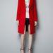 Piros kabát a Zarában 22995 forint.