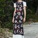 Virágos ruha, kis japán beütéssel a Chaneltől