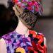 Izgalmas minták, arctalan modellek Maison Martin Margiela kifutóján.