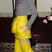 Marion Cotillard érdekesen szabott sárga estélyiben Londonban