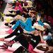 Betsey Johnson fitnesz edzéssel egybekötött bemutatója New Yorkban