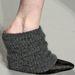 Hegyes orrú cipő zoknival Alexander Wang modelljén