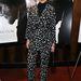 Chloe Sevigny mintás zakóban és hozzá illő pantallóban Spielberg filmbemutatóján