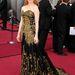 A 2012-es Oscaron pedig aranyban és feketében pompázott Jessica Chastain.