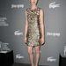 A héten a jelmeztervezők céhének rendezvényén arany Gucci ruhában jelent meg Hathaway