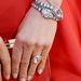 Aniston kezén a gyémántok.