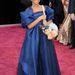 Quvenzhane Wallis: a kilenc éves színésznő Rahaminov for Forevermark fülbevalót és kutyás kistáskát viselt a vörösszőnyegen. A kutyás táska is kapott egy csillogó tiarát az Oscarra.