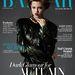 Lindsey Wixson tollas szerelésben duzzog a Harper's Bazaar címlapján