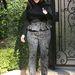 Kim Kardashian február 22-én így lépett ki lakásából.