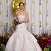 Jennifer Lawrence lehengerlően festett ebben a Dior ruhában.