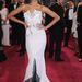 Zoe Saldana az Oscaron Alexis Mabille ruhájában