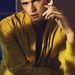 Sean O'Pry bűvöli az olvasókat élénksárga kabátjában a L'Officiel Hommes magazin hasábjain.