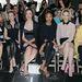 Celebnők, Lea Seydoux, Renee Zellweger Rebecca Hall, Zoe Saldana, January Jones és Alice Englert a Miu Miu show első sorában