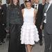 Victoria Beckham pedig az elmaradhatatlan túlméretezett napszemüveggel.