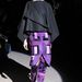 Axente Vanessa a londoni divathétből is kivette részét, fekete és lila szerelésben Tom Ford kifutóján volt látható.