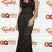 Monica Bellucci a Spike TV 2003-as GQ Men of the Year díjátadóján pózol felpolcolt mellekkel, Dolce & Gabbana ruhában, New Yorkban.