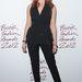 A brit színésznő, Gemma Arterton a British Fashion Awards-ra érkezett Stella McCartney a ruhában a londoni The Savoy Hotelbe 2012 november 27-én.