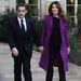 Nicolas Sarkozy és felesége, Carla Bruni 2012-ben