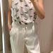 Zara: ez a nadrág tényleg csak nyárra lesz jó, 12995 forintért, a felső 8595 forint.