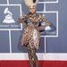 Nicki Minaj habcsók hajjal, állatmintás szettben a Grammy-n