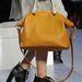 Klasszikus mustár színű őszi táska a Chloétól