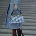 Vintage kék táska a Miu Miutól