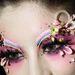 Különleges sminkben és arcdíszekben nem volt hiány, MGPIN Make-up Styling Collection.