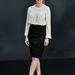 Jessica Chastain klasszikus fekete-fehér szettben a Chanel partyn.