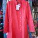 A piros átmeneti kabát, amit szerettünk. 37490 forint.