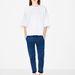 A Zara is piacra dobta a póló-pulóvert, melyet idén nadrággal és szoknyával is hordhat.