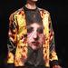 A női kollekcióban előtérbe került a festményszerű hatás is. Szintén Givenchy.