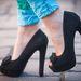 Az extramagas fekete cipő 4400 forint