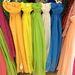 Asia Center: színes pamutkendők 1500 forintért.
