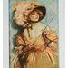 Marion Davies keblei a Janice Meredith plakátján. A színésznő jászott együtt Clark Gablevel is.