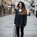 Rina anyukája 30 éves kabátjában Bécsben