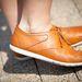 A cipő Reebok.