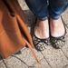 Szilvia cipője a Mango Outletből van.