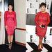 Kim Kardashian és édesanyja, Kris Jenner ugyanabban a piros ruhában egy év eltéréssel. Maradtak a fekete-piros kiegészítőknél, nem túl kreatív.
