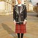 Lorenzo Cisi divatfotós punknak öltözve a londoni divathéten