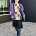 Tommy HiiBZAY divatújságíró a punkok által felkapott cipőben a londoni divathéten
